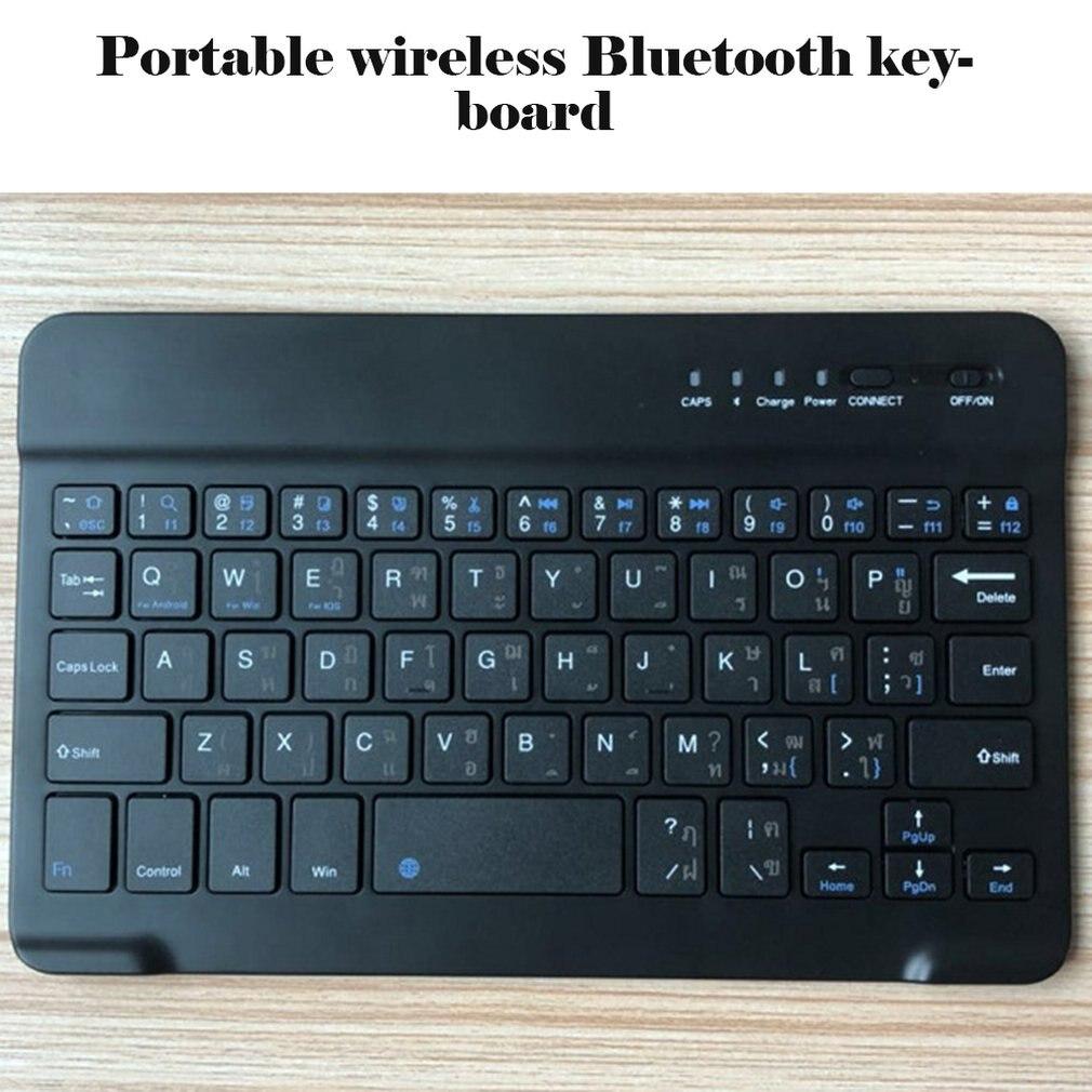 Bluetooth Keyboard Tablet Smartphone Wireless Laptop iPad Slim Mini Android for iPad/Support/Ios/..