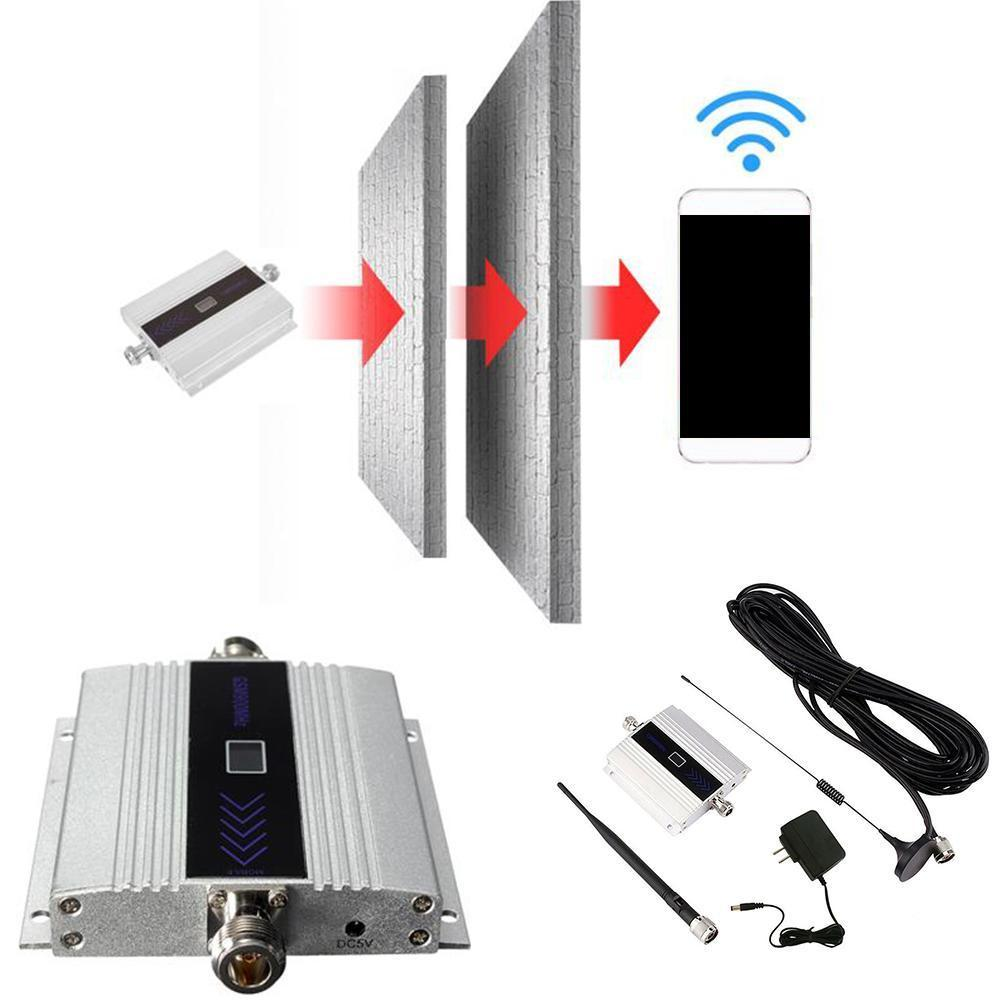 900Mhz GSM 2G/3G/4G Signal Booster Repeater Amplifier Phone Signal Antenna For Cell Amplifier T4J5