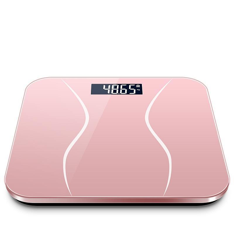 45  Bathroom Scales 5AA battery Digital Scale Body pink Black Digital Balance Fat  BE47003|Bathroom Scales| |  - title=
