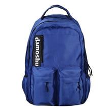 цены New Women Preppy Style Large Backpack Nylon Travel Backpack Male Mochila Girls Laptop Knapsack School Bags for Teens
