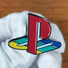 Ps1 lapela pino nostalgia adição vídeo game heady festival distintivo
