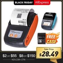 Mini imprimante thermique sans fil portative de billet de reçu de Bluetooth de 58mm pour limprimante mobile datelier de machine de facture de téléphone portable pour le magasin