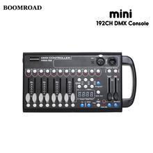 192ch Dmx Controller Handvat Sound Control Led Console Voor Rookmachine Podium Verlichting Effect Toont Disco Licht Restaurant Menu