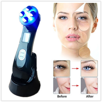 5in1 LED Skin Tightening Device RF & EMS  Radio Mesotherapy Electroporation Face Beauty Photon Skin Rejuvenation Wrinkle Remover beauty star ems v face massager body slimming beauty instrument microcurrent mesotherapy electroporation wrinkle remover salon