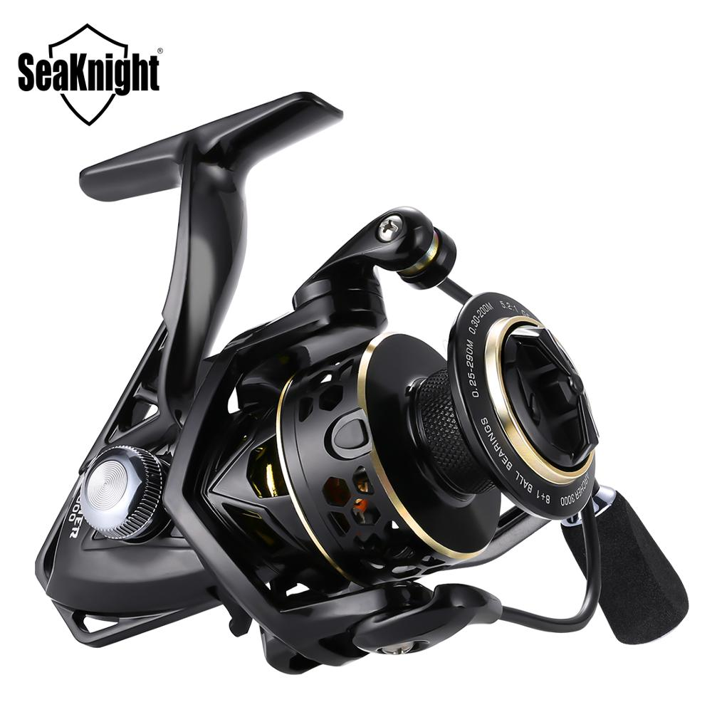 Seaknight Archer 5.2:1 4.9:1 Spinning Reel Max Drag 13Kg 8+1BB Carp Fishing Reel 2000 6000 Aluminium Spool Spinning wheel carret|Fishing Reels|   - AliExpress