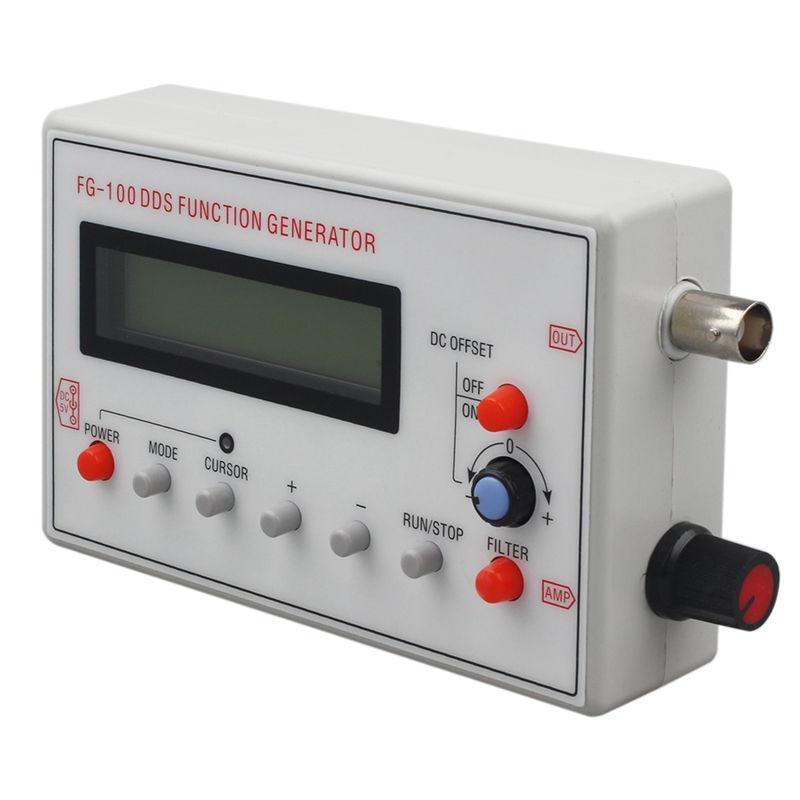 Акция-генератор сигналов с функцией DDS, Частотный счетчик, 1 Гц-500 кГц