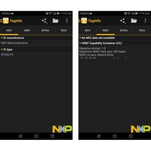 Image 4 - 1000 adet nfc kart 215 çip için çip TagMo Forum Type2 NFC215 13.56mHz huawei payı ios13 kişisel otomasyon kısayolları