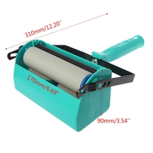 Double Color Wall Decoration Paint Painting Machine For 5 Inch Roller Brush Tool