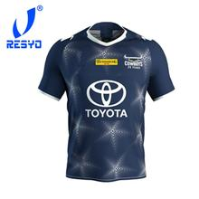 RESYO FOR  2020 North Queensland Cowboys NINES Rugby Jersey Sport Shirt S-5XL