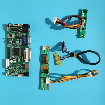 """Kit for CLAA154WB05AN/CLAA154WB05A DVI HDMI 1280X800 VGA Screen Driver 30pin Controller board Display Panel 1 lamps LVDS 15.4"""""""