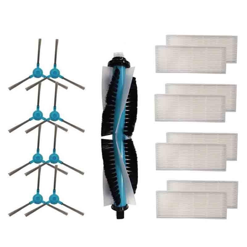 Top Sale Replacement Main Brush,Side Brush, Hepa Filters For Cecotec Conga 1390 Cecotec Conga 1290 Robot Vacuum Cleaner