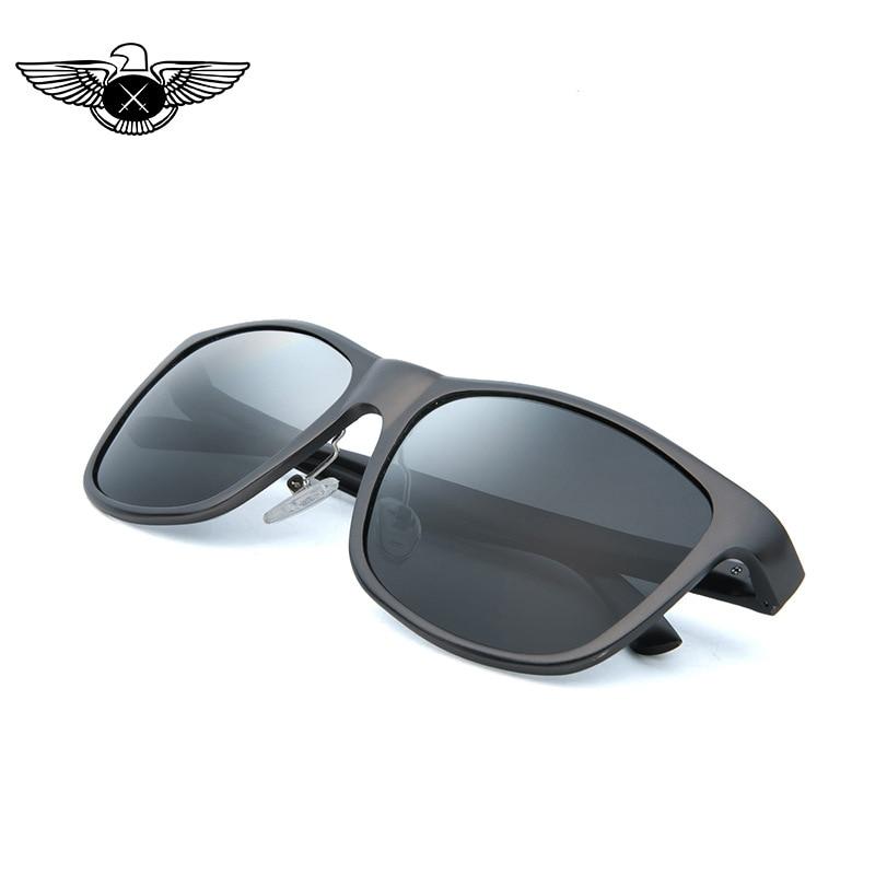 New Style Retro Practical Glasses Gun Gray Aluminum Magnesium Framework TAC Lens Sunglasses Manufacturers Direct Selling Sunglas