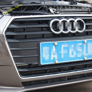 Image 5 - Lapetus Front Insect Screening Mesh Front Grille Protection Net Cover Trim Fit For Audi A4 B9 2016 2017 2018 2019 Auto Accessory