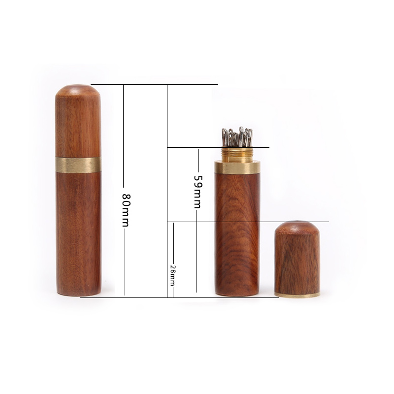 Durable-Practical-Wood-Box-Leather-Knitting-Craft-DIY-Sewing-Needles-Housing-Case-Boxes-82x18mm-WXV-Sale