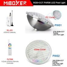 Подводный светодиодный светильник miboxer 18 Вт/27 Вт rgb +
