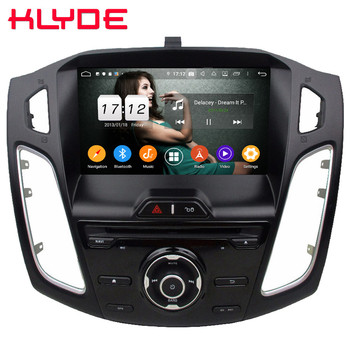 """Klyde 9"""" IPS 4G Android 9.0 Octa Core 4GB RAM 64GB ROM DSP BT Car DVD Player Radio Stereo GPS Glonass For Ford Focus 3 2012-2018"""
