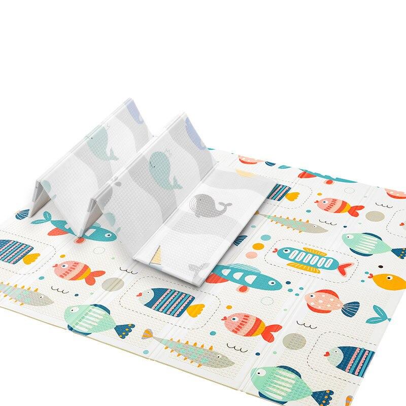 Tapis de jeu bébé pliable 2-14Y épaissi XPE mousse enfants tapis salon maison bébé tapis d'escalade