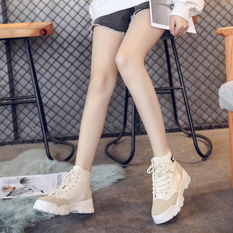 Martin Boots Women's British-Style Autumn And Winter WOMEN'S Shoes 2019 New Style Korean-style Anti-slip Short Boots Versatile B
