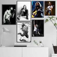 Hot Chris Cornell Classic Rock Music Band Star Pittura a Olio di Arte Poster Stampe su Tela Immagini a Parete per Living Room Decor картины(China)