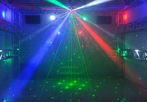 Image 3 - أدى 80W + 48W RGBW نقل رئيس ضوء DMX 512 سطوع عالية ضوء للديسكو الرقص قاعة KTV مرحلة النادي الليلي DJ تظهر العصابات