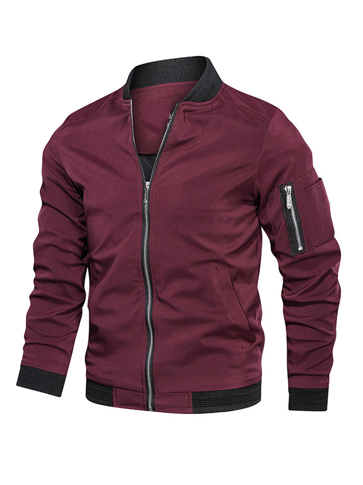 Pilot Coat Jacket Male Men Clothing Spring Slim-Fit Bomber Streetwear Autumn Men's Plus-Size