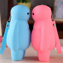 1PCS Bright Red Puppets Cute Cartoon Biological Animal Finger Puppet Plush Toys Child Baby Favor Dolls Boys Girls Finger(China)
