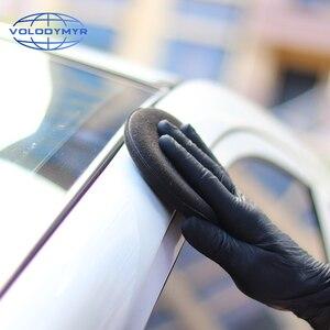 Image 5 - Limpeza rápida do carro da almofada de enceramento do diâmetro do preto 13 cm da esponja da cera de volodymyr para detalhar o cuidado automático do lavagem de carros limpo do detalhe