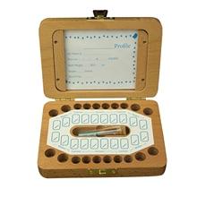 Organizer Teeth-Saver Photo-Frame Tooth-Box Fairy-Box Gift Wood Keepsake Baby Kids Girls