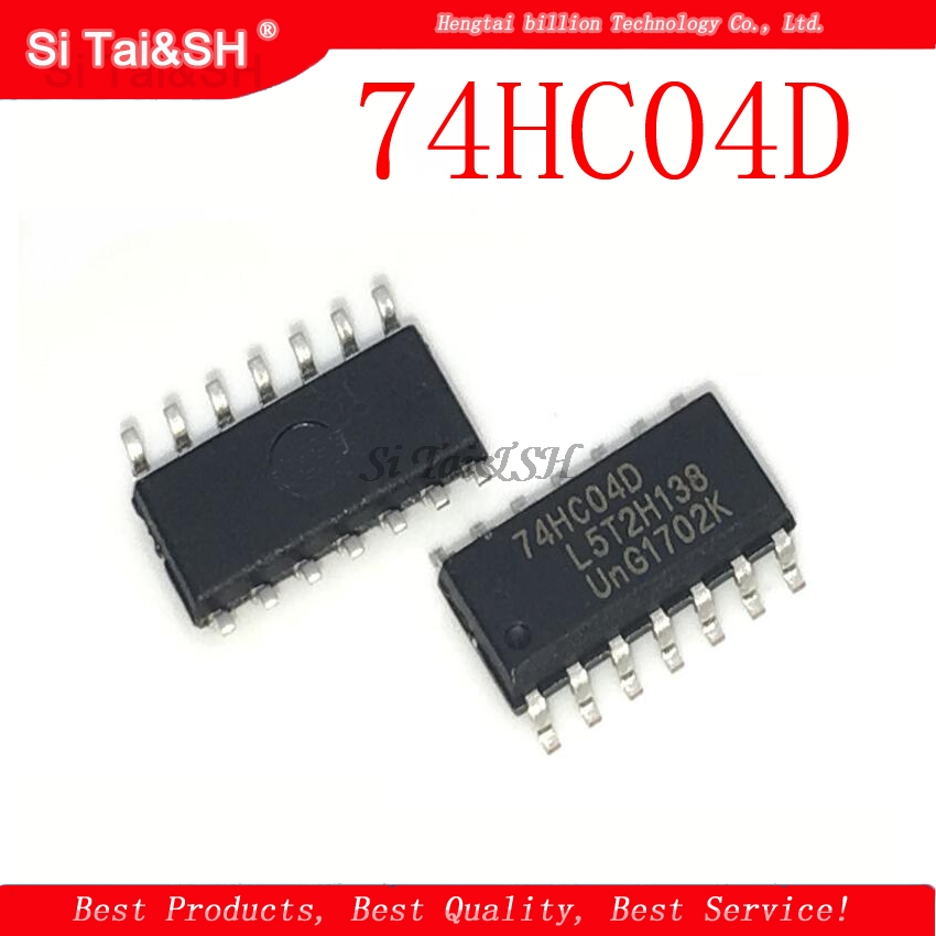 50PCS 74HC04D SOP14 74HC04 SOP SN74HC04DR SMD