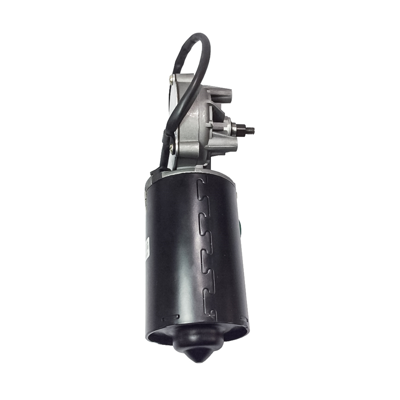 45GZ6299L DC Door Motor 24V 50RPM 45W DC Right Angle Reversible Electric Gear Motor for BBQ with Threaded Shaft 29kg High Torque in DC Motor from Home Improvement
