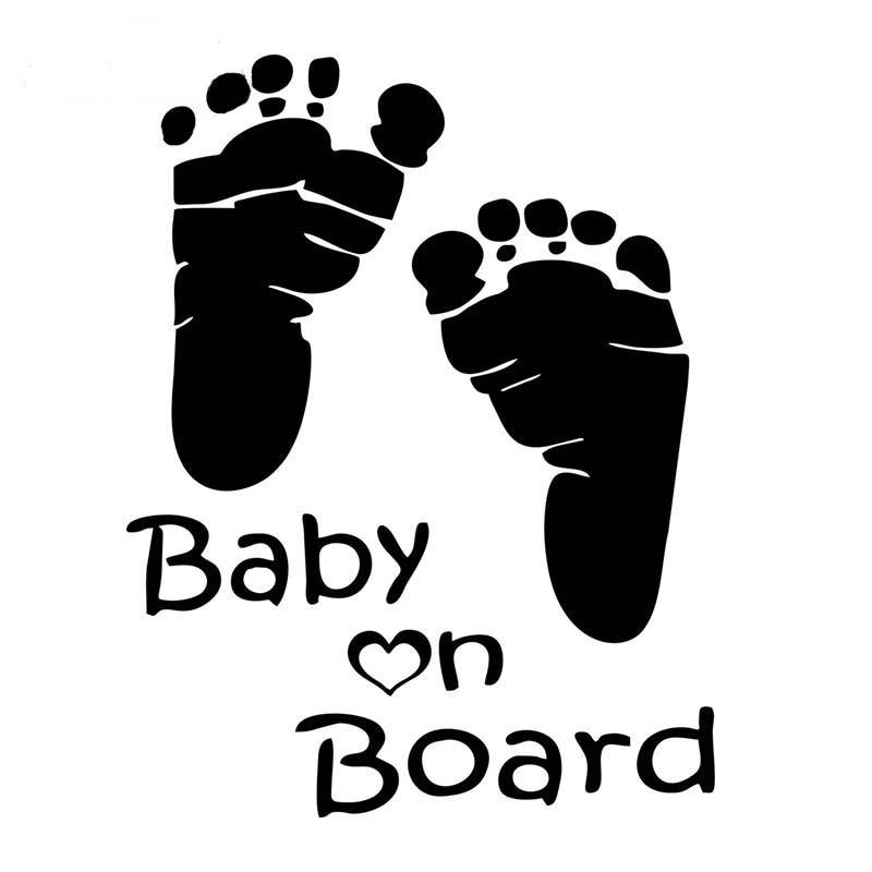 For Auto Car//Bumper//Window Vinyl Decal Sticker Decals DIY Decor Both babys