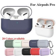 Silicone Cover Case For apple Airpods Pro Case sti