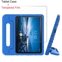screen film For Lenovo Tab M10 Tab P10 10.1 Inch X605 2019 Tablet Case EVA Shockproof Portable Handle Protective Stand Cover And Screen Film (1)