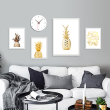 Pineapple Wall Art Print Poster Nordic Poster Abstract Canvas Painting Quotes Posters And Prints Wall Pictures For Living Room moon sun quotes nordic poster wall art canvas painting posters and prints canvas art print wall pictures for living room decor