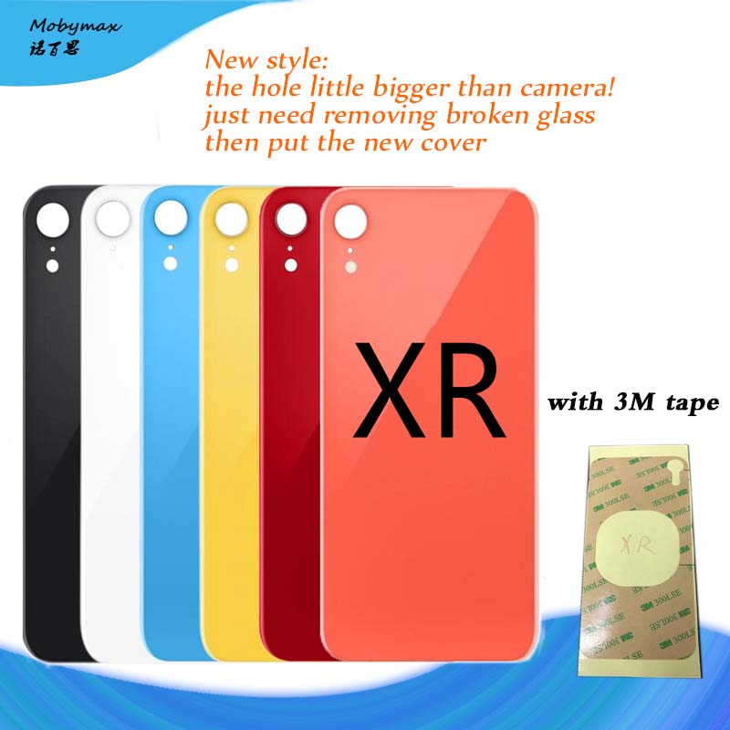Rear-Housing-Replacement iPhone Back-Cover Glass for XR Rear-Door Body Assemble