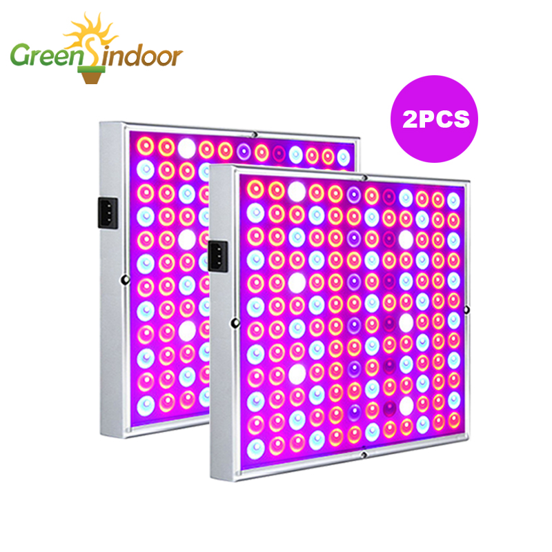 2pcs Grow Tent LED Grow Light Phyto Lamp For Plants Seedlings Full Spectrum Professional Lighting Fitolampy For Indoor Plants