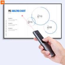 Xiaomi MIjia GUILDFORD USB bezprzewodowy prezenter wskaźnik laserowy wskaźnik pilota PPT dla nauczyciela prezentacji PowerPoint