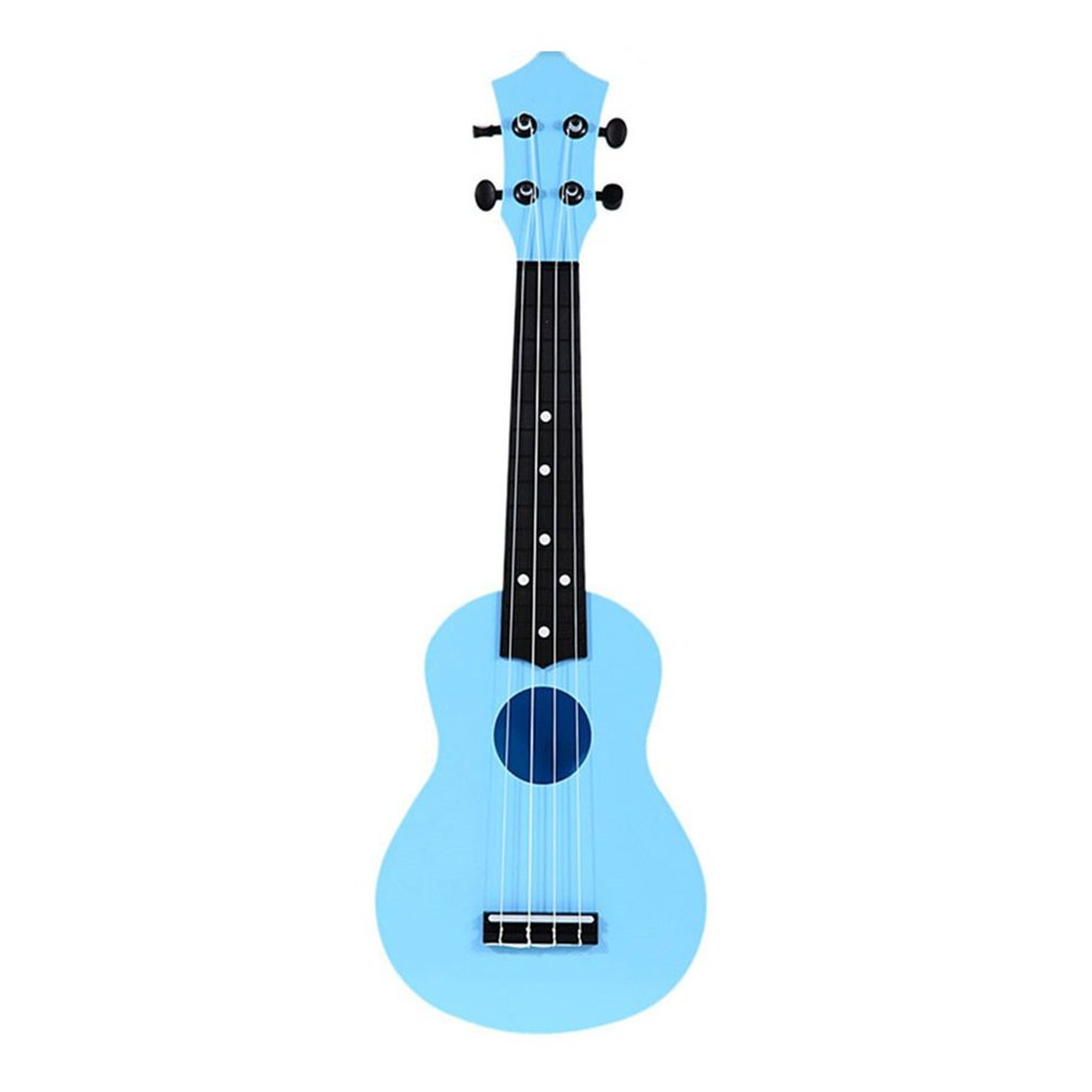 21 Inch 15 Frets Ukulele 4 String Acoustic Guitar Musical Instrument Gift Soprano Plastic Hawaiian Guitar For Beginner Student