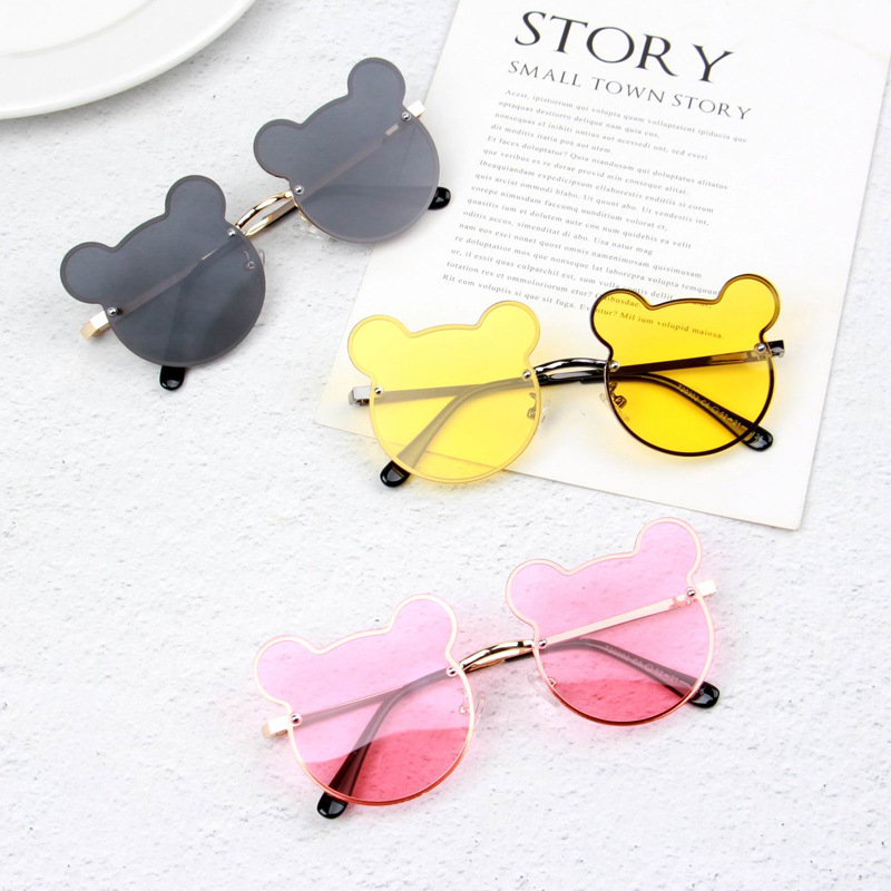 2020 New Children Polarized Sunglasses Cute Cartoon Style Baby Boy Personality Sunglasses UV Protection Girls