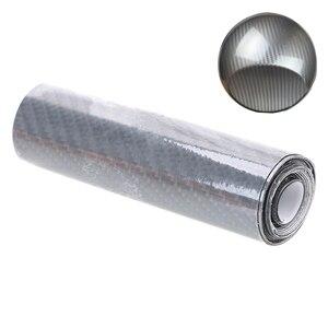 Image 2 - YOSOLO 10cmX152cm DIY 5D High Glossy Vinyl Film  Wrap Motorcycle Car Carbon Fiber Car Styling Interior Carbon Fiber Film