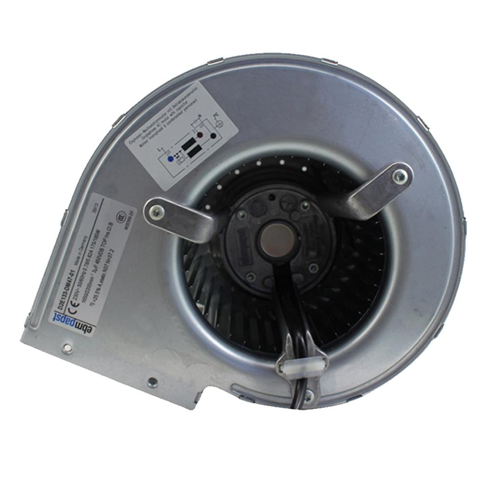 Original Ebmpapst Fan D2E133-DM47-01 230V Double Inlet Centrifugal Fan Blower
