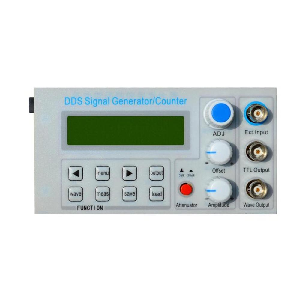 FellTech SGP1002S Embedded Panel DDS Function Signal Generator/Teaching Instrument Signal Frequency Counter with Adapter EU