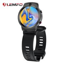 LEMFO LEM13 2MP + 8MP1.6 pouces montre intelligente 4G 400*400 résolution App télécharger haute fréquence cardiaque Google Map 1280mAh capacité