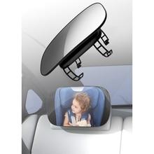 Car Child Baby Adjustable Wide Rear View Mirror Seat Safety Monitor Headrest Mirror