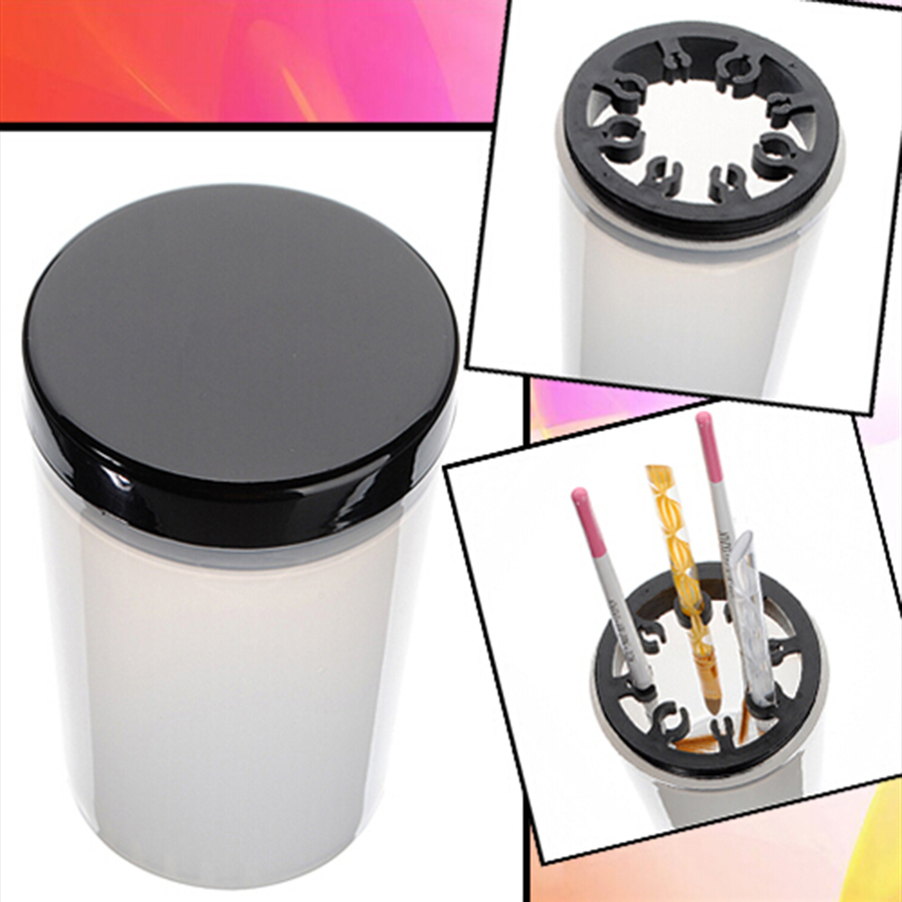 Nail Accessories Professional Handy Holder Acrylic Pen Cleaner Cup Washing Water Container Cup New Nail Art Brush Pot Tool