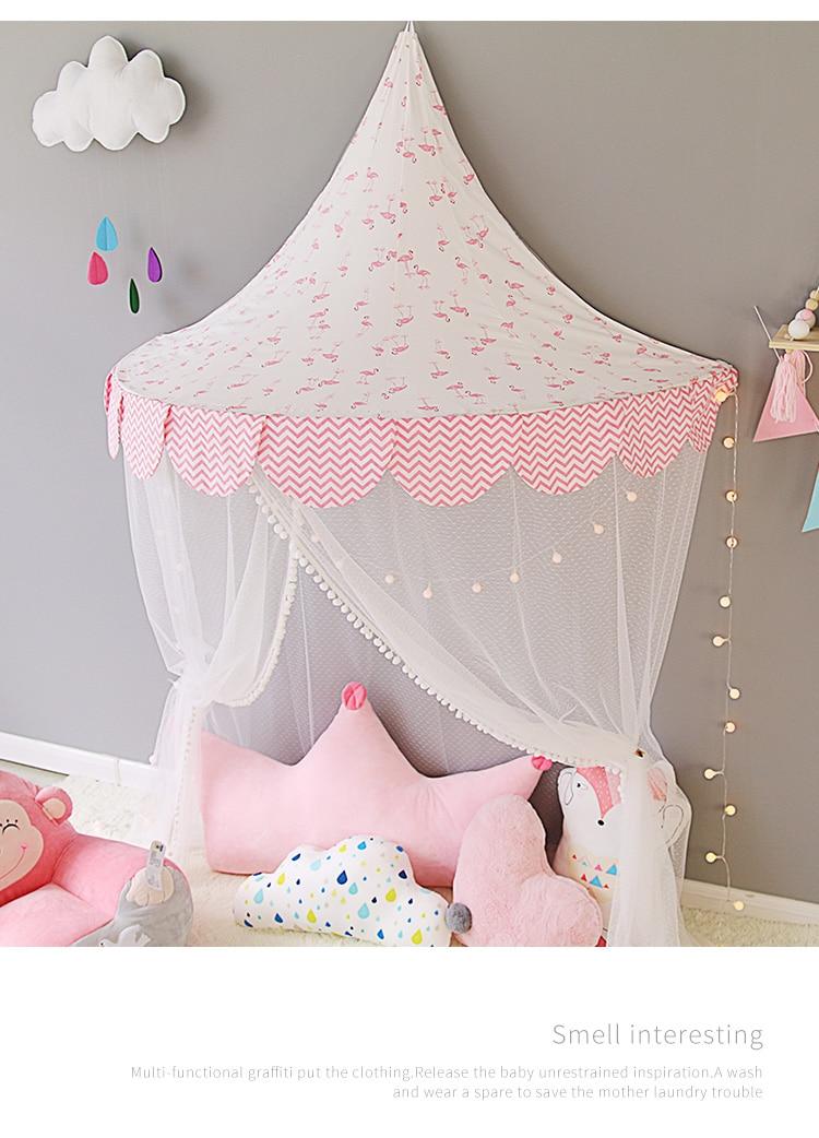Детская кровать палатка для чтения угол декоративный принцесса комната Девушки Крытый мальчик ребенок половина игровая кабина