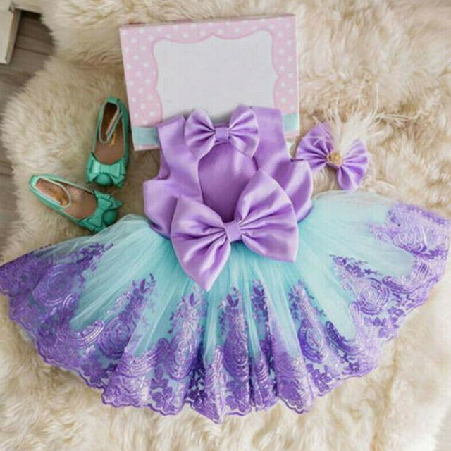 Dziewczyny pierwsza sukienka urodzinowa dla noworodka maluch księżniczka Halloween karnawał sukienki dla dzieci dziewczyna na imprezę bal odzież odzież