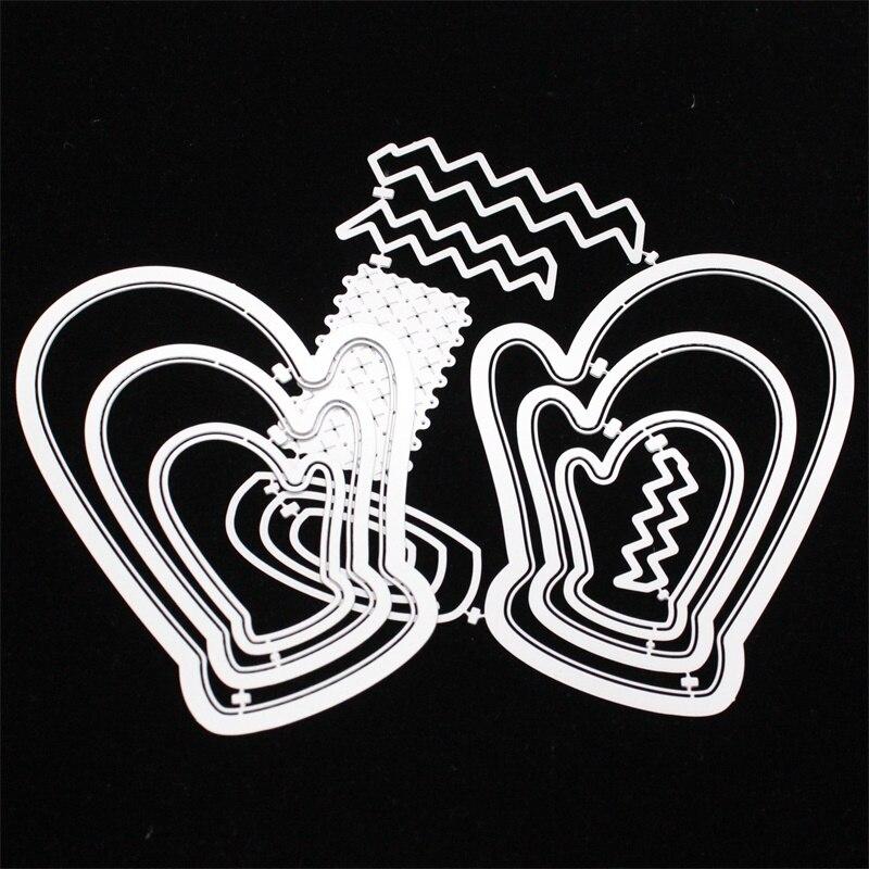 Christmas Gloves Metal Cutting Die Crafts Embossing Stencil Scrapbooking Die DIY