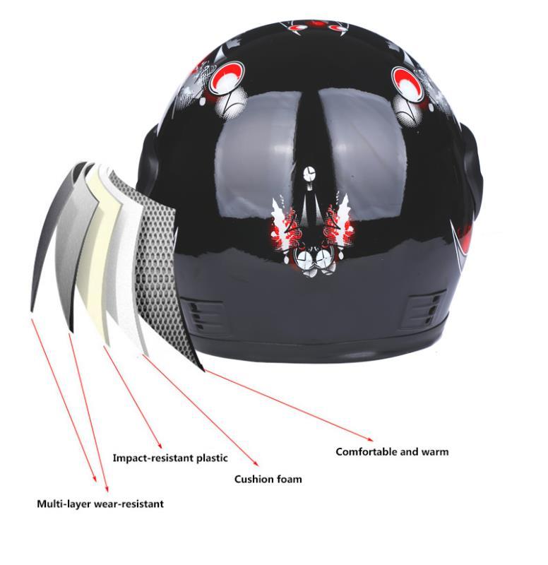 2020 New Motorcycle Helmet Full Face DOT Moto Motocross Off-road EPS Professional Capacetes ATV Downhill Racing Dirt Bike Cross 3