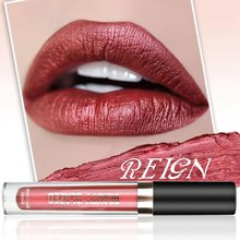 Liquid Lipstick Lip Stick Long Lasting Lip Gloss Beauty Glaze Matte Liquid Lipstick Makeup Gloss Glitter Gloss Easy Tint TSLM1(China)